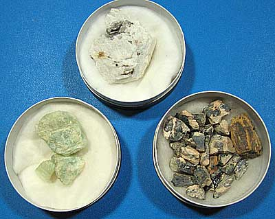 Rare element Minerals from Japan collected by OTOKICHI NAGASHIMA